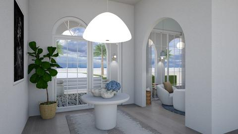 White Feature hallway - Minimal - Living room  - by milk07Designs