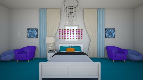 My Friends Room Part 1 - Bedroom - by Anonymus