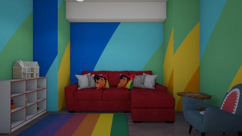 Rainbow Kids Play Room - by Cuddle_Puppy