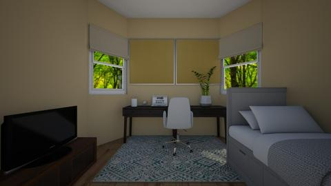 Dorm Room - by azzieflowers