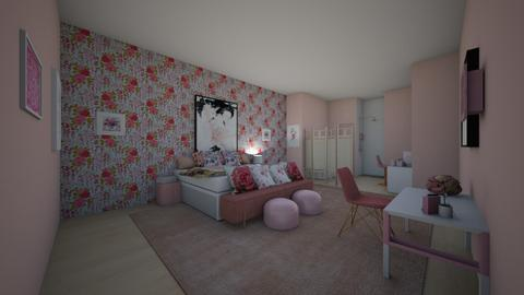 Blush Attic - Glamour - Bedroom  - by 0fficialshari