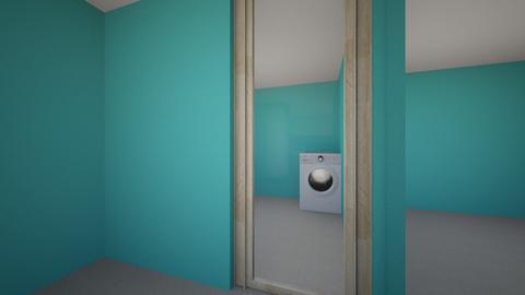 tampak depan - Living room  - by agunghs