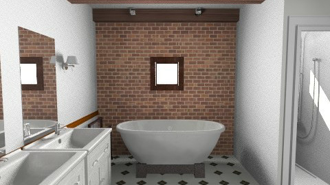 Master Bathroom 1 view 1 - Country - Bathroom  - by horo