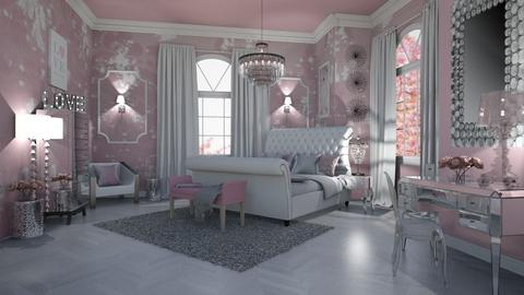 GLAM IS FOR GIRLS - Feminine - Bedroom  - by RS Designs