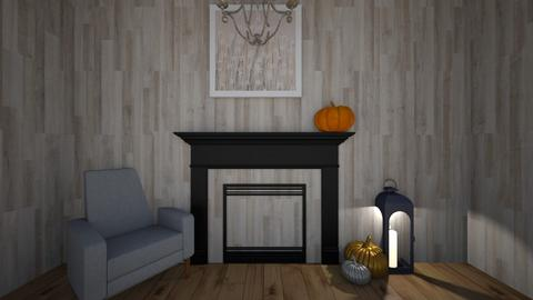 fall fire place - by jennigirl 654