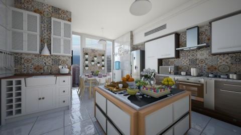 Cozinha do Chale - Modern - Kitchen  - by Mariesse Paim