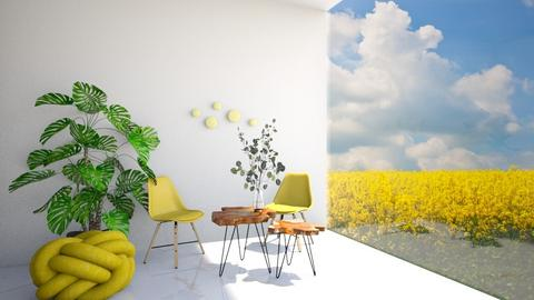 Yellow - Living room  - by Meghan_Pheebs_