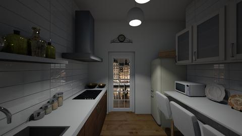 Swedish flat kitchen - Minimal - Kitchen  - by LuzMa HL