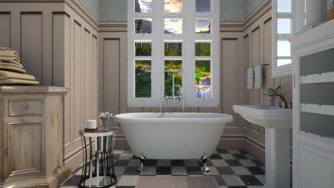 Serene Bath - Bathroom  - by sissybee