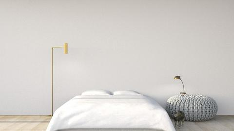 Simple - Minimal - Bedroom  - by elodiee