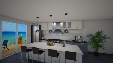 Modern kitchen - Modern - Kitchen  - by ring