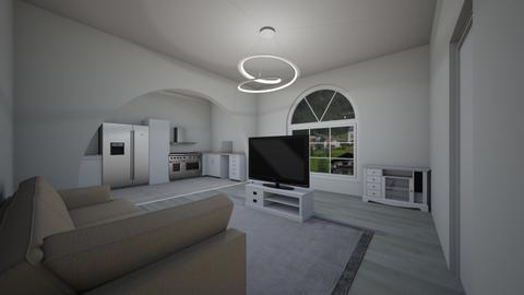 house 2 - Living room - by lokneszikolbasz