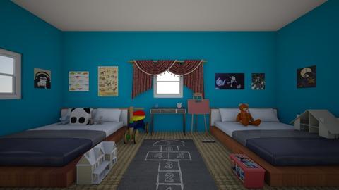 kids room by joe - Kids room  - by joedoesdesign