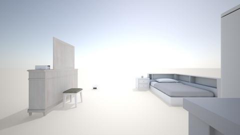school project - Bedroom  - by CRRomanek