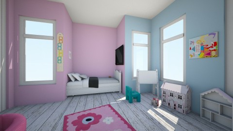 Pantone color of the year - Vintage - Kids room  - by Austeta