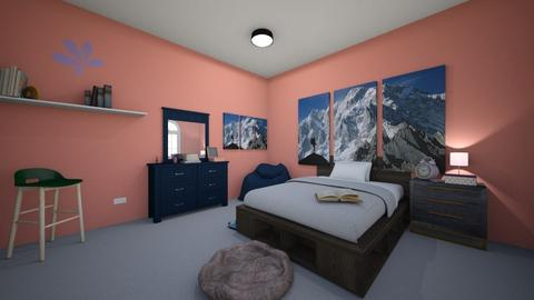Friday Challenge 2 - Bedroom  - by Messa03