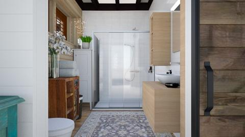 Moms Cabin Bathroom - Bathroom  - by Amyz625