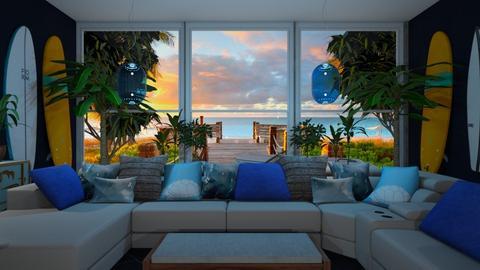 Serfing livingroom - Living room  - by rechnaya