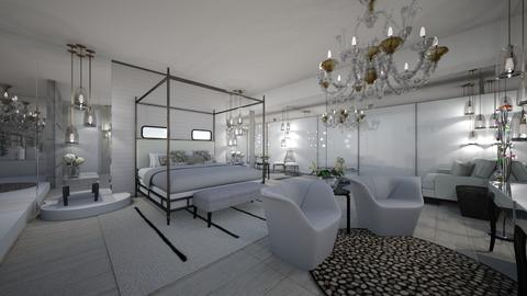 Glam - Glamour - Bedroom  - by GraceED