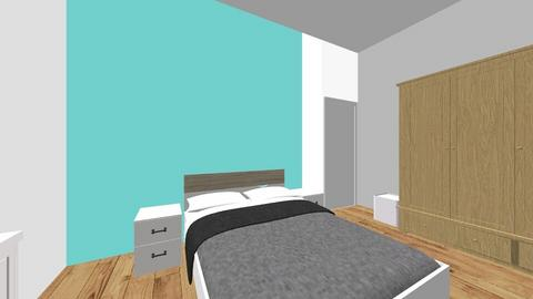 habitacion uno - Bedroom  - by moritoyluna1