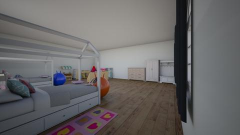 Ava and Olivias Bedroom  - Kids room - by Little Miss Designer 198