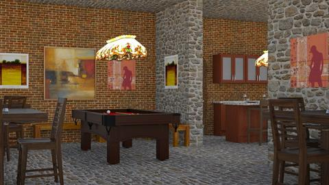 Lazy Diner - Rustic - Dining room  - by millerfam