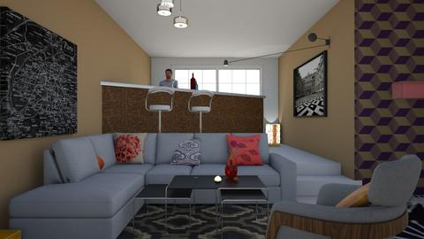 bbbar - Living room - by wiwa