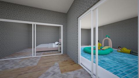 pool room  - Living room  - by peyton twins