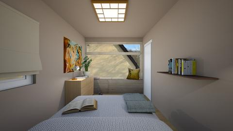New Bedroom III - Modern - Bedroom  - by LaCoune