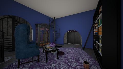 RavenclawCommonRoom - Vintage - Living room  - by jade1111