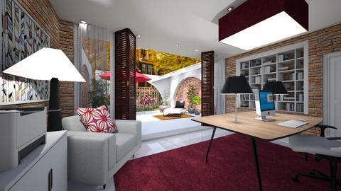 Estudo - Living room - by rosanebpf