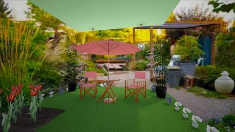 Interior garden - Glamour - Garden  - by Agamanta