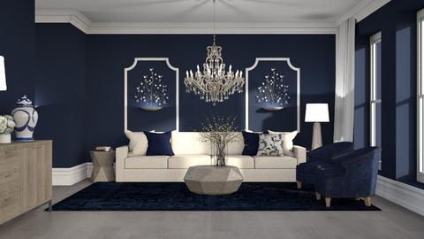 424 - Classic - Living room  - by Claudia Correia