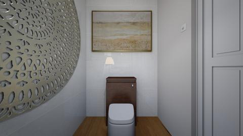 minima toilet - Minimal - Bathroom  - by designbyma