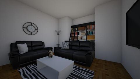 Zebra room - Living room  - by alib33