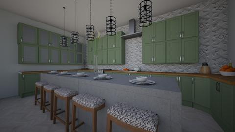 Kitchen 1 - Kitchen - by Poey