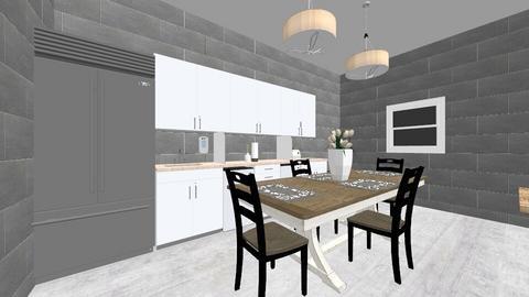 Kylees dream room - Modern - Kitchen  - by KyleeDeCamp