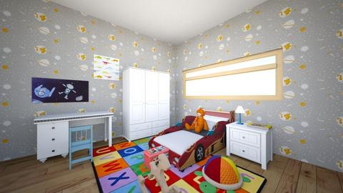 quarto infantil masculino - Kids room  - by alicia vieira
