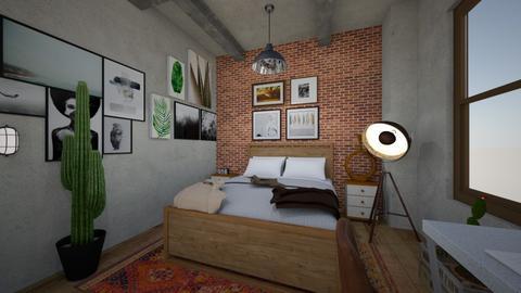 yatak - Bedroom  - by berkaycim