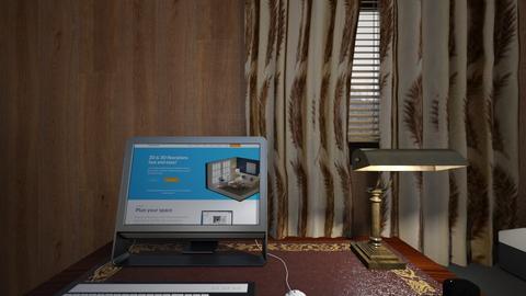 Rustic Desk - Bedroom  - by mspence03