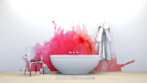 Katherine - Bathroom  - by weinsteinfam