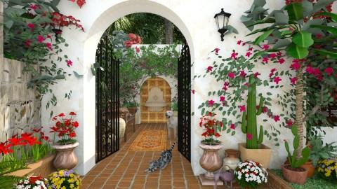 Design 212 Bievenidos - Garden  - by Daisy320