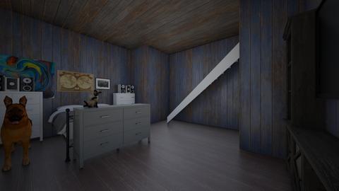 harringrove bedroom - Retro - by katiegaynor