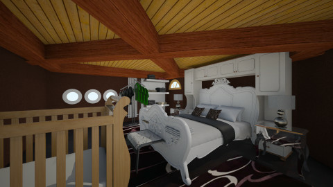 bedroom Sara - Classic - Bedroom  - by Boka i Deki