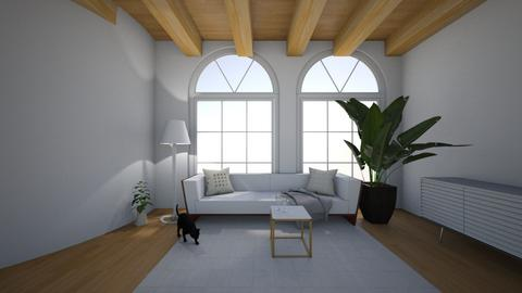 white  - Living room  - by hannahelise
