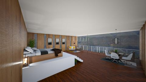 Bedroom with MountainView - Bedroom  - by Tanem Kutlu