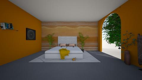 O Keeffe slaapkamer - Bedroom - by marianijzink