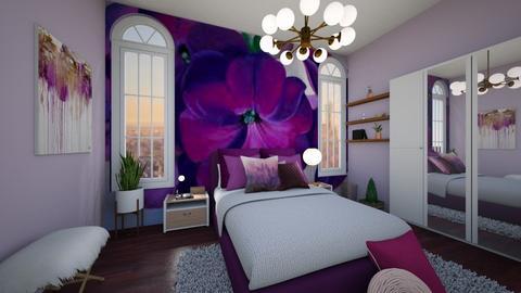 Habitacion  - Bedroom - by Natibenitez