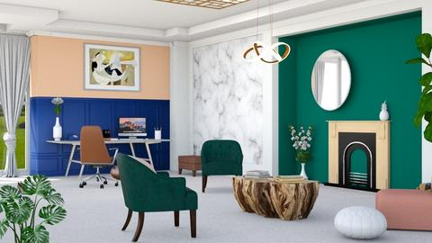 Eclectic - Office  - by ArtHousedeco