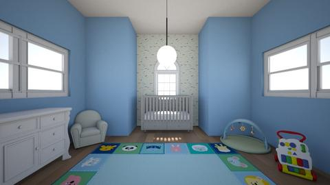 Blue Baby Nursery - Eclectic - Kids room  - by sophiefleah